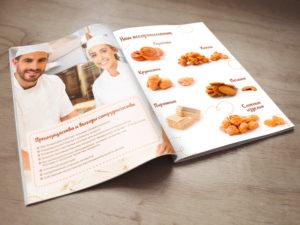 Разработка дизайна каталога, журнала, буклета, брошюры